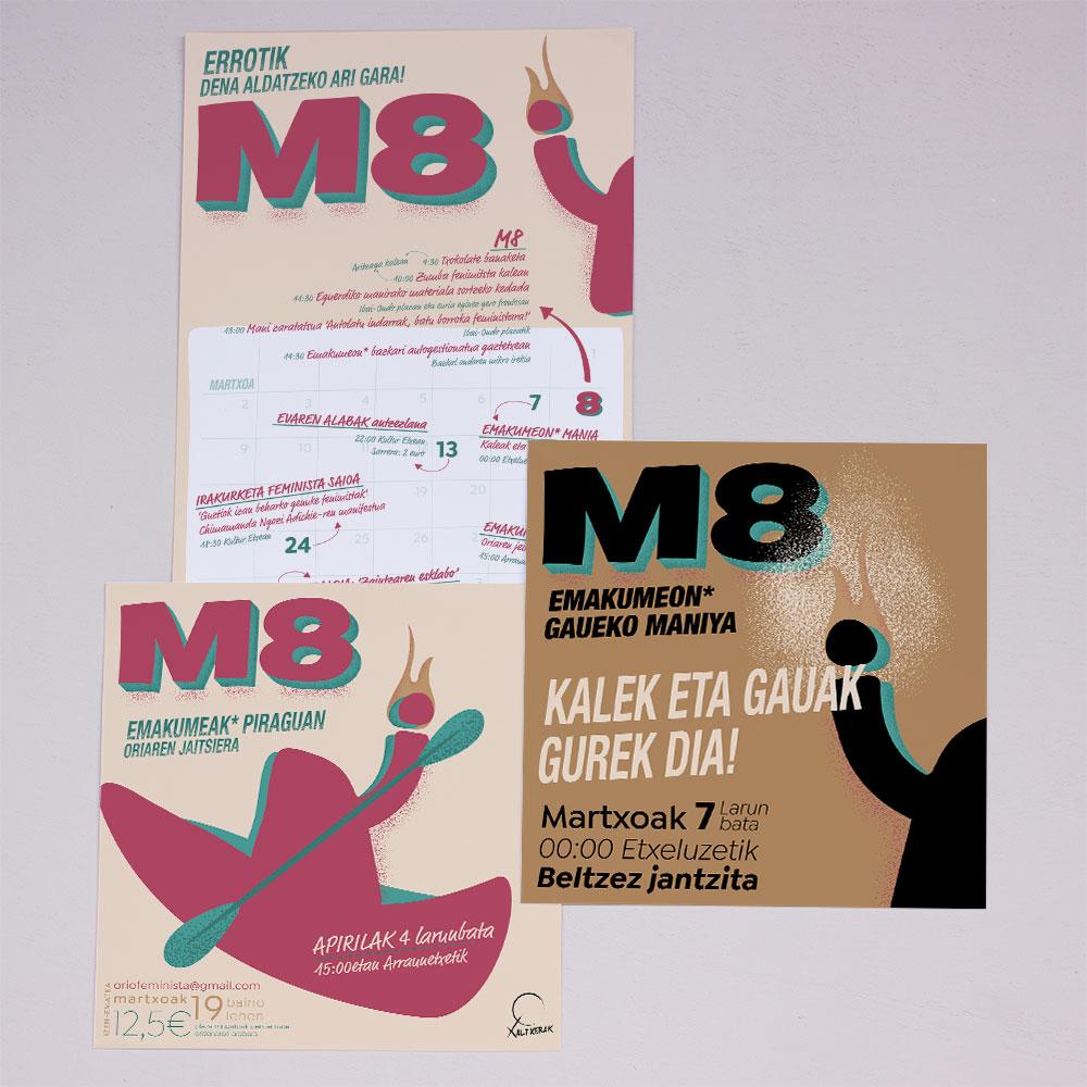 M8 kanpaina kartel multzoa